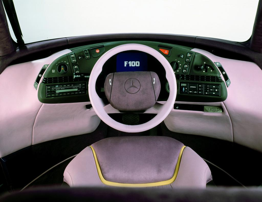 Mercedes-Benz F 100, koncept kao temelj brojnih inovacija slavi 30. rođendan