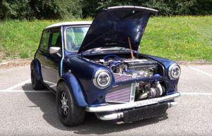 MINI oldtimer sa Honda VTEC motorom najluđa je stvar koju ćete danas vidjeti