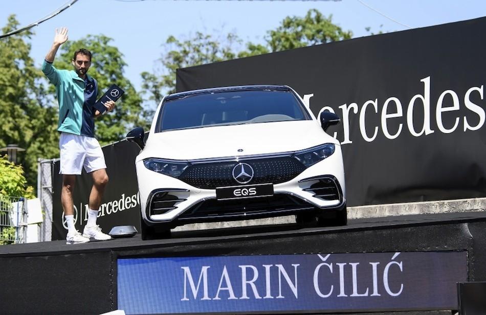 Marin Čilić osvojio turnir u Stuttgartu i Mercedes EQS!