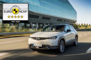 Mazda MX-30 postigla maksimalnih 5 zvjezdica na Euro NCAP testu