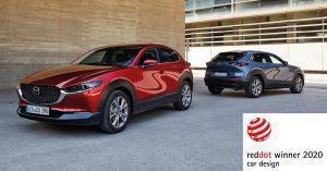 Mazda CX-30 i MX-30 okrunili se nagradom Red Dot za dizajn 2020