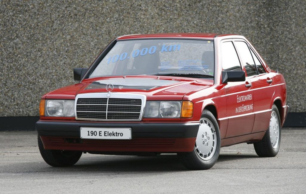 Mercedes-Benz 190 - pionir elektromobilnosti slavi 30 godina od predstavljanja