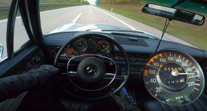 Mercedes-Benz 280 E iz 1973. s lakoćom ide preko 200 km/h i dokazuje svoj besmrtni duh