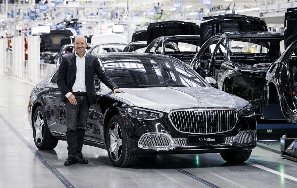 Mercedes-Benz slavi veliku obljetnicu, proizveli 50 milijuna osobnih automobila