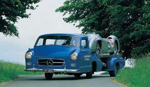 Plavo čudo, Mercedes-Benz imao je unikatnu vučnu službu ispred vremena