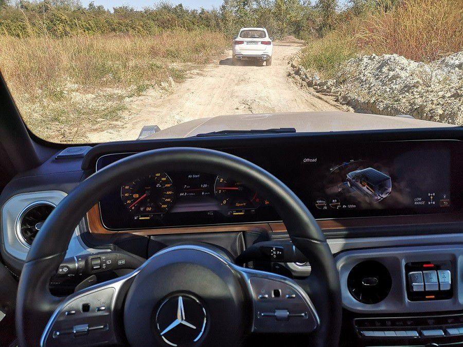 Kolika je potrošnja Mercedes-Benz G-klase tijekom off-road avanture?