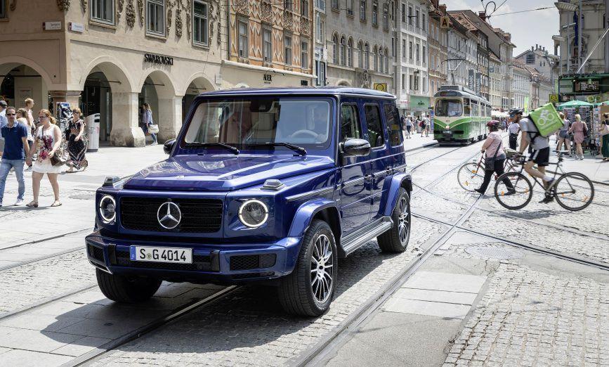Mercedes-Benz najavio električnu verziju G-klase