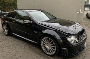 Mercedes-Benz CLK 63 AMG Black Series u oglasu, malo udaren, ovo je odlična prilika!