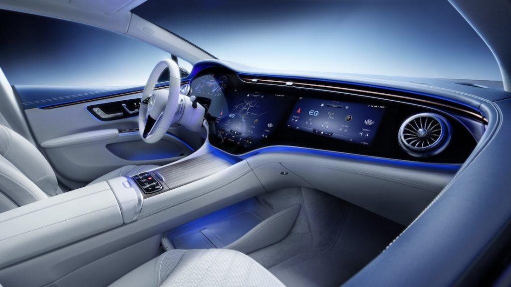 Mercedes EQS u drugi plan gura i novu S-klasu