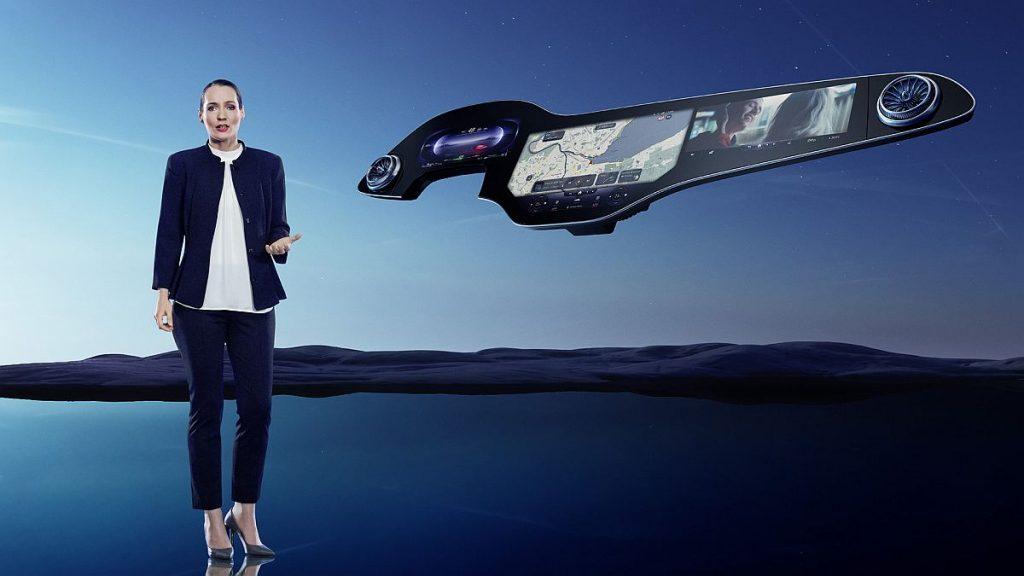 Mercedes-Benz predstavio interijer budućnosti, ovaj 141 cm MBUX Hyperscreen stiže u EQS