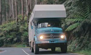 Mercedes-Benz LA 911 B kao idealni kamper za putovanje dugo 3 godine