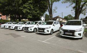 Isporuka 11 vozila, Mitsubishi Space Star u službi patronažne Doma zdravlja Zagrebačke županije