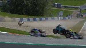 Šokantan sudar MotoGP vozača, Rossi i Vinales slave drugi rođendan
