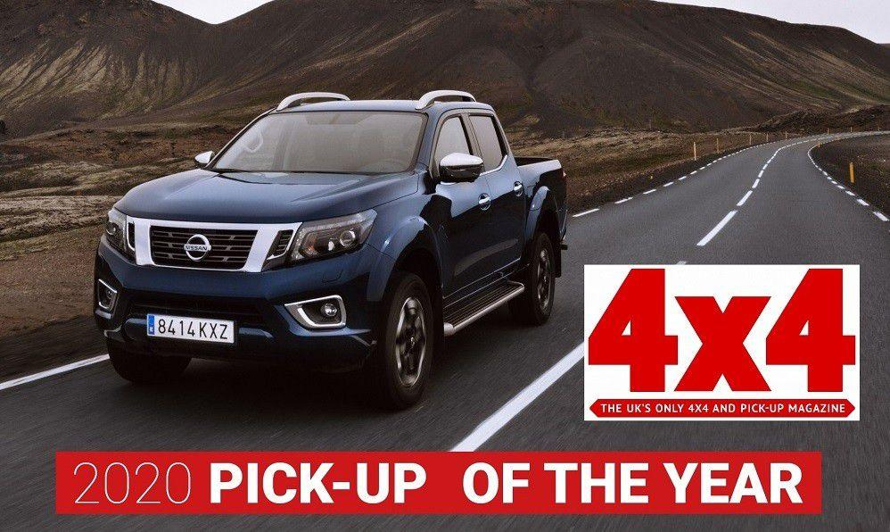 Nissan Navara ponijela 'pick-up of the Year' titulu za 2020.