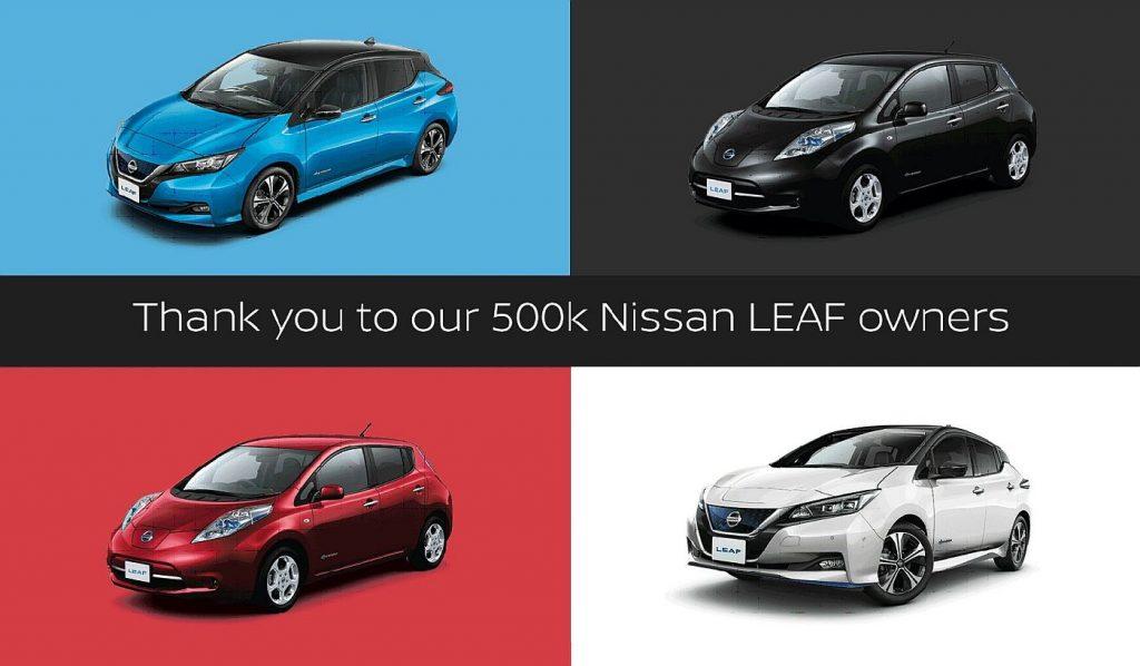 Nissan Leaf slavi 10 godina od početka proizvodnje i isporuku 500.000 primjerka
