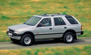 Opel Frontera slavi 30. godina briljante terenske karijere