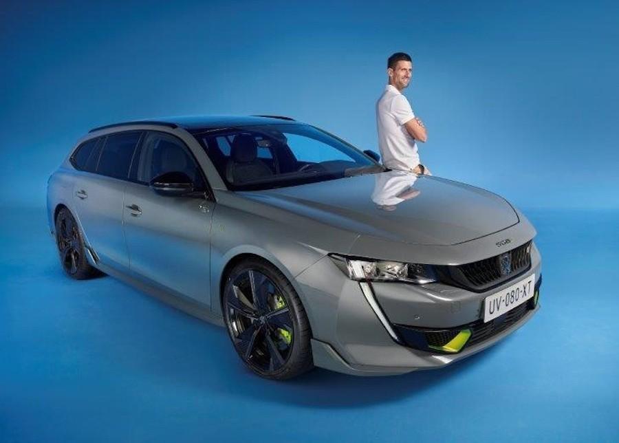 Igre parova u tenisu od danas imaju najbolji dvojac, Peugeot 508 Sport Engineered i Novaka Đokovića