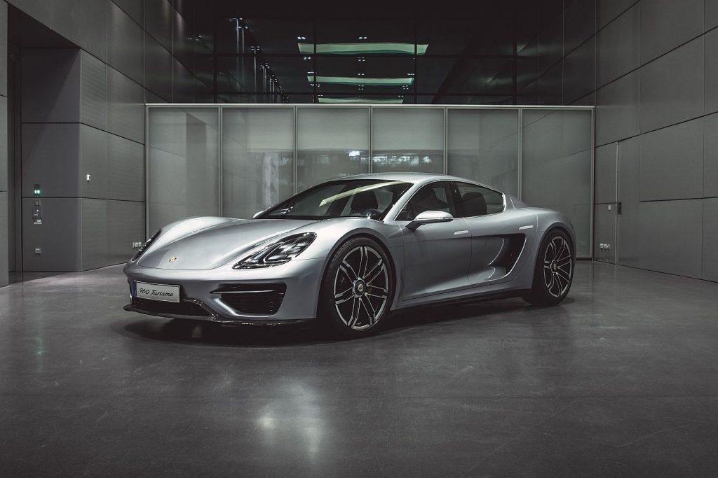 Porsche 960 kao Vision Turismo, s ovim modelom krenuo je projekt Taycan