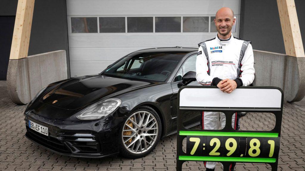 Porsche Panamera postavila rekord na Ringu, premijera 'facelifta' krajem kolovoza