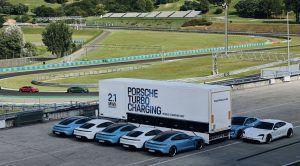 Porsche Taycan natjerao inženjere na novu inovaciju - mobilnu punionicu