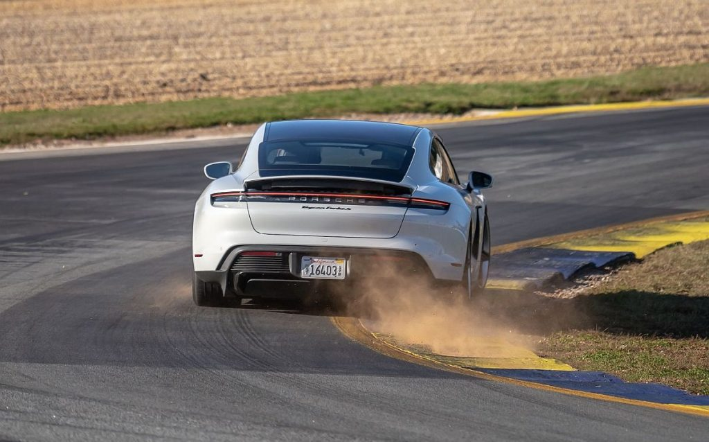 Porsche Taycan Turbo S postavio električni rekord na stazi u Atlanti