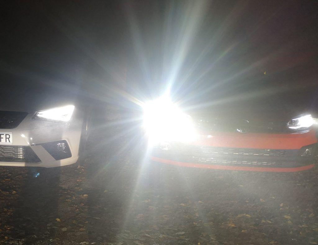 Upaljena duga svjetla prilikom pretjecanja drugog vozilo, je li to kažnjivo?