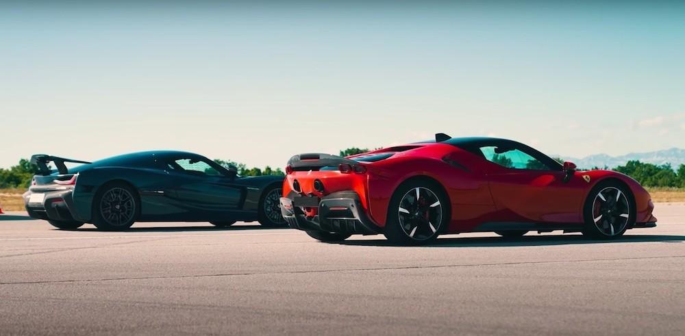 Rimac Nevera vs Ferrari SF90, iz Hrvatske stiže novi svjetski rekord
