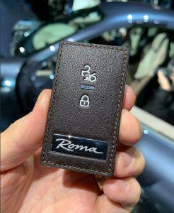 Ovako izgleda ključ od Ferrari Rome!