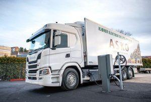 Scania isporučuje 75 električnih kamiona norveškoj firmi Asko