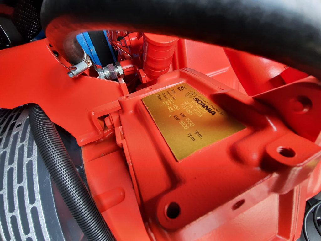 Scania motori u službi agregata za struju, bili smo na isporuci jednog takvog u Zagrebu