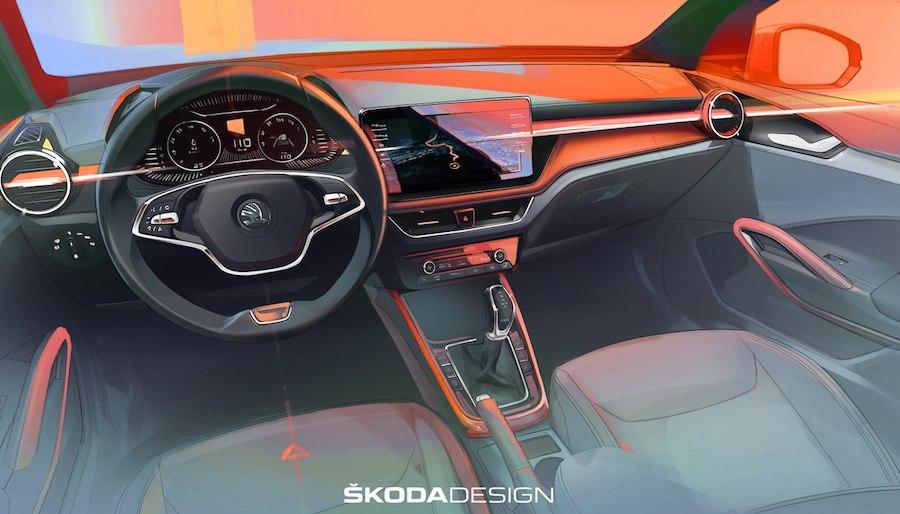 Nova Škoda Fabia otkrila izgled unutrašnjosti
