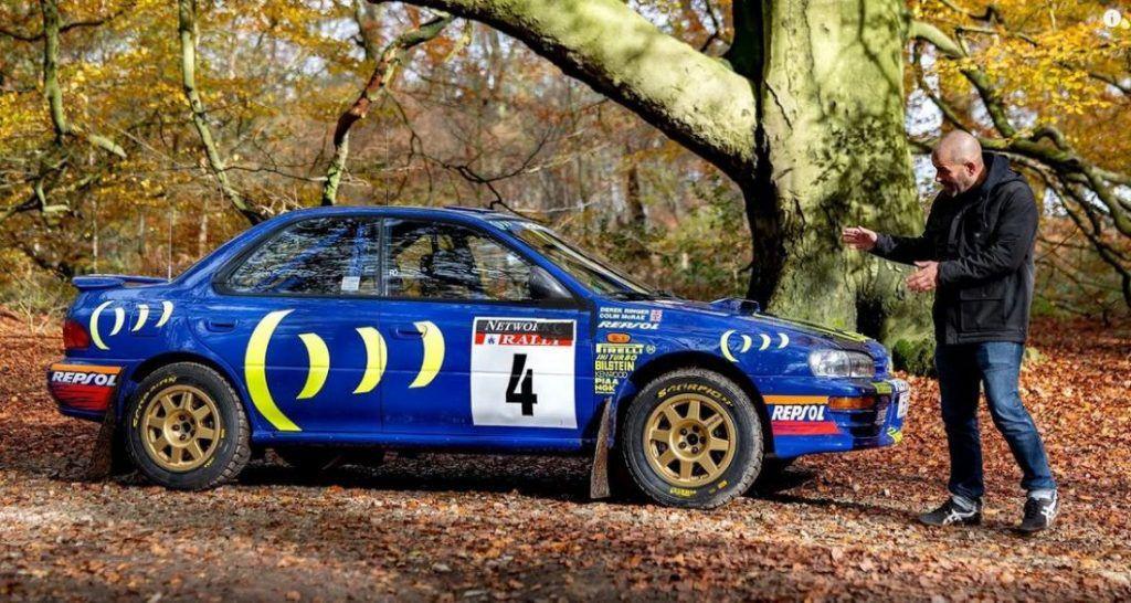 Subaru Impreza od reli prvaka Collin McRae, ovaj put u rukama Chris Harrisa