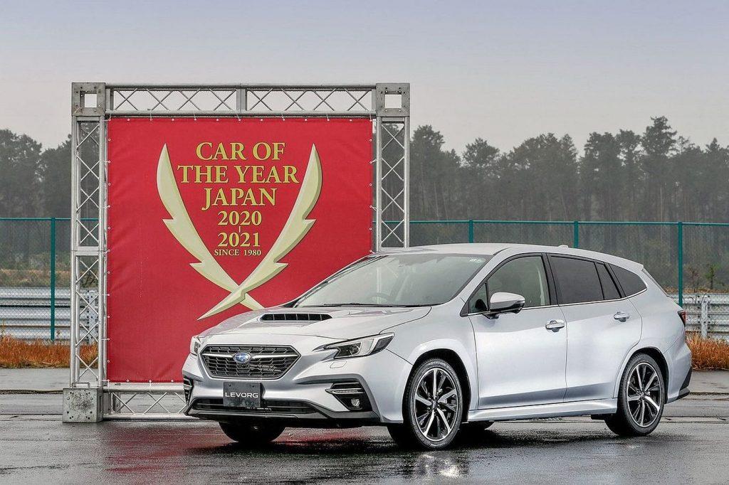 Japanski automobil godine 2020. je Subaru Levorg