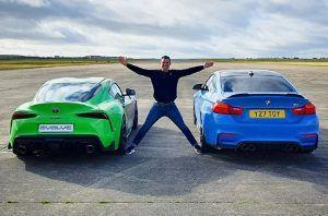 Toyota Supra i BMW M4 u zanimljivom dvoboju, ishod je na kraju očekivan?