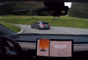 Tesla 3 ili Mercedes-AMG A 45, opasna jurnjava cestom i dokaz strujnog vozačkog potencijala