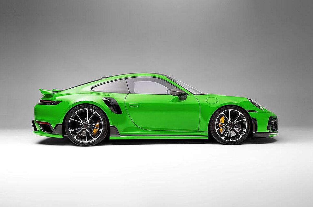 TECHART doradio Porsche 911 (992) Turbo S, (ne)potrebni dodaci dominiraju