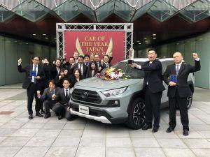 Toyota Rav4 japanski automobil godine 2019.