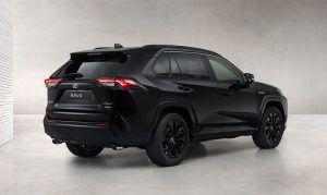 Toyota RAV4 Hybrid Black Edition kao opasna izvedba vrhunskog SUV modela, stiže na jesen