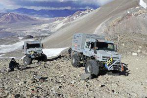 Svjetski visinski rekord, Unimog U5023 osvojio najviši vulkan!