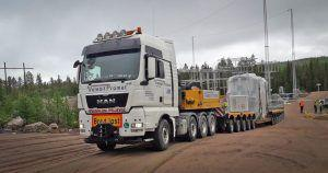 Velebit promet iz Slovenije u Švedsku preselio 103.5 tona težak teret!
