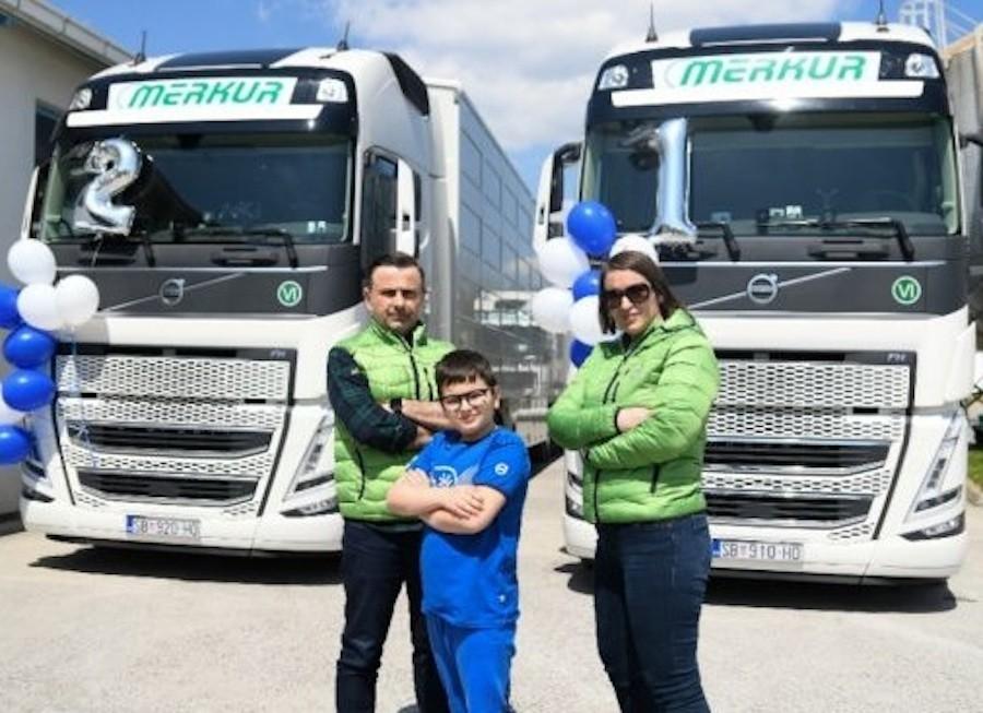 Novi Volvo FH slavi prvu isporuku u Hrvatskoj, dva kamiona idu za Slavoniju!