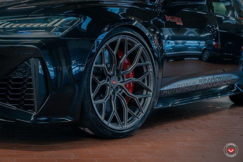 Novi Audi RS6 Avant uz Vossen naplatke izgleda zastrašujuće dobro
