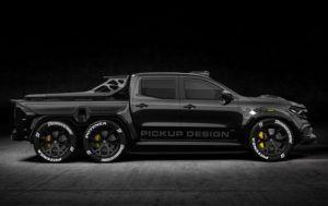 Mercedes-Benz X-klasa EXY Monster 6X6 Concept - vitez tame stvarno dolazi