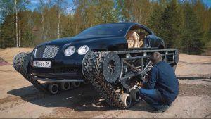 Bentley Continental GT ili Ultratank? Ekipa iz Rusije ima odgovor!