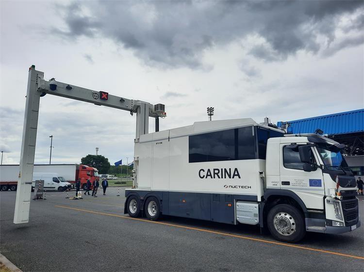 Carinska uprava nabavila novi mobilni RTG uređaj