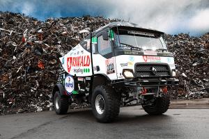 Renault predstavio prvi hibridni kamion za reli Dakar!