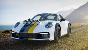 Porsche 911 Carrera kao rally vozilo u specijalnoj Delta4x4 dizajnerskoj studiji