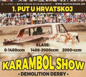 Demolition Derby - utrka razbijanja premijerno u Hrvatskoj!