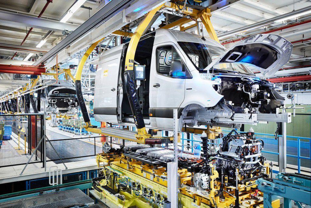 Mercedes-Benz u Düsseldorfu krenuo s proizvodnjom eSprintera