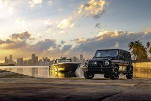Mercedes-Benz predstavio novi sportski brod, ali i posebnu inačicu G klase!